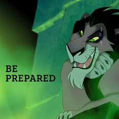 The lion prowls around looking to devour Walt Disney, Disney Fan, Disney Theme, Disney Love, Disney Magic, Disney Pixar, Hakuna Matata, Scar Lion King, Disney Villains