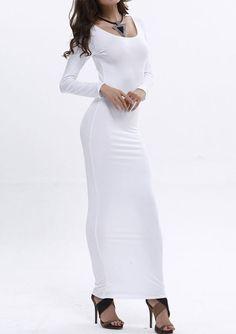 fa025b168d6 Women Lady Beach Plus Size Bodycon Long Sleeve Evening Sundress Long Maxi  Dress