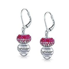 Child 925 Sterling Silver Butterfly Pink Bead Drop Earrings So Chic Jewels