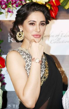 Nargis dons traditional look!