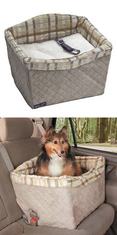 Car Seats and Barriers 46454: Solvit Tagalong On-Seat Pet Booster, Deluxe, Jumbo -> BUY IT NOW ONLY: $85.05 on eBay!