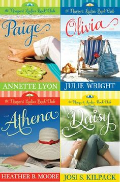 my writer's lair: The Newport Ladies Book Club series