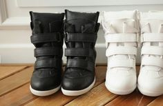 2015 new Isabel Marant Genuine Leather Boots fashionable women Sneakers Shoes for women heel high Drop/Free Shipping CSL01-in Women's Fashion Sneakers from Shoes on Aliexpress.com | Alibaba Group