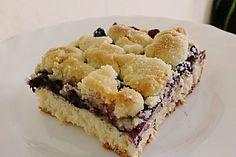 Falscher Hefekuchen mit Blaubeeren und Streuseln, ein schmackhaftes Rezept aus der Kategorie Kuchen. Bewertungen: 5. Durchschnitt: Ø 3,9.