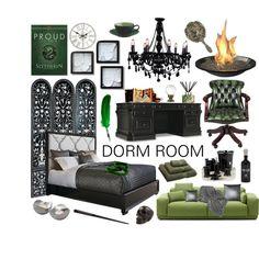 Ideas for how to create a cozy home-away-from-home dorm room #dorm