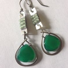 Green onyx and aventurine