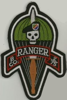 Ranger Regiment & Battalions Pocket Patches B Company, 2nd Ranger Battalion