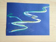 Aurora Borealis Mixed-Media Nightscapes Aurora Borealis Mixed-Media Nightscapes – Paint On All The Tables Elements Of Art Color, Third Grade Art, Winter Art Projects, Art Lessons Elementary, Chalk Pastels, Painting Lessons, Chalk Art, Art Plastique, Teaching Art