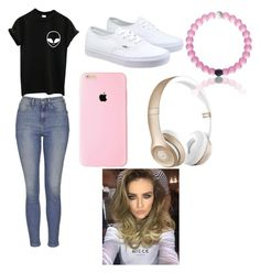 """""""Untitled #7"""" by kacywyman-2 on Polyvore featuring beauty, Topshop, Vans and Beats by Dr. Dre"""