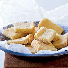 Vanilla Bean Shortbread  http://www.myrecipes.com/recipe/vanilla-bean-shortbread-10000001891928/