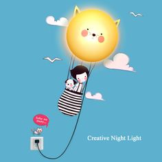 Cheap light sleeve, Buy Quality light hijab directly from China lamp guard Suppliers: New Arrival Creative Cartoon DIY LED Baby Wall Lamp with Wall Sticker Wall Night Light For Kids Room Home Decoration