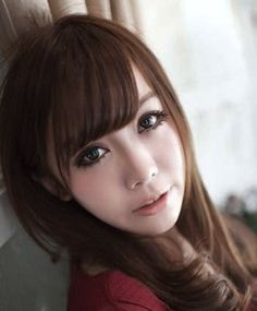 2012 latest girls hair type Japanese sweet wind face-lift | long hair styles | Asian hairstyle | Korean men Hairstyle