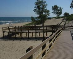 State Parks With Campgrounds on Lake Michigan