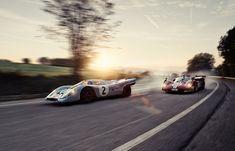 Clash of the Titans once Again: Porsche 917 and Ferrari 512 at Spa