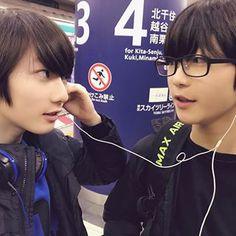 ちょっとだけ遠出。 Korea Boy, Cute Boys, Baby Boy, Guys, Children, Ulzzang, Twins, Korean, Random