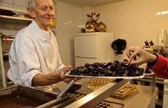 Cacao en Chocolade Museum (MUCC) in Brussel