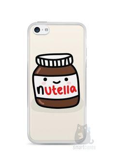 Capa Iphone 5C Nutella #2 - SmartCases - Acessórios para celulares e tablets :)