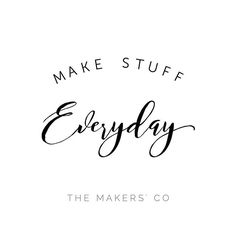 For 5 minutes or 5 hours, go get making! 🎉  www.themakerscollective.com.au