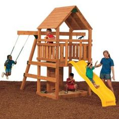 Powerhouse Build It Yourself Bronze Play Set-KT 77153 at The Home Depot