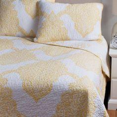 Ivy Hill Home Batik Reversible Quilt Set - Full/Queen)