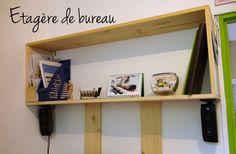 Une étagère toute simple en peu de temps pour mon bureau – Pour votre Quotidien