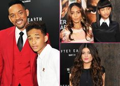 "Will, Jaden, and the Smith Family Premiere ""After Earth"" in New York City -                                 Awesome awesome movie!!!"