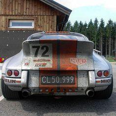 Porsche 911 Eat my dust! Eat my Feinstaub!