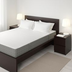 online shopping for IKEA Spring Mattress, Medium Firm, Dark Beige Size: King from top store. See new offer for IKEA Spring Mattress, Medium Firm, Dark Beige Size: King Mattress Springs, Foam Mattress, Ikea Queen Mattress, Mattress Couch, Sofa Bed, Brimnes Bed, Malm Bed, Bed Frame With Storage, Ikea Family