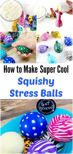 Squish balls for anxiety