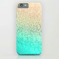 Gold aqua iphone & ipod case by monika strigel Sparkly Phone Cases, Glitter Iphone 6 Case, Cute Phone Cases, Diy Ipod Cases, Diy Coque, Iphone 6 S Plus, Telephone Iphone, Accessoires Iphone, Bunk Beds