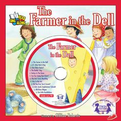 """The Farmer in the Dell    The classic children's song becomes a favorite story! The new recording follows the story word-for-word so pre-readers can sing and """"read"""" along with each page on their own. Children will develop pre-reading and word recognition skills and listening and motor skills as they sing, read, and interact with the song. The additional songs on the Music CD provide more sing-along fun! Music CD stores safely inside the front cover plastic clamshell.    $4.99"""