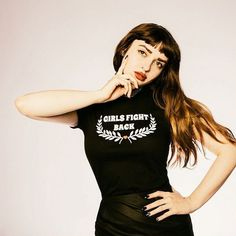 Girls Fight Back Tee| Photo of @mollymarlette|  Valfre.com