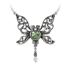 Le Phantom Vert Necklace by Alchemy Gothic, England * Check out this great product.-It is an affiliate link to Amazon. #Necklace