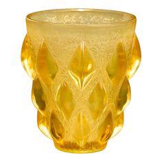 Lalique Rampillon vase