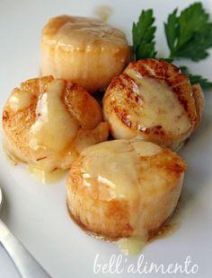 Sea Scallops in Saffron Cream Sauce | bell' alimento