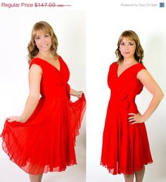 ON SALE Vintage 1960's Miss Elliette Party Dress by BeulahLouiseVintage, $102.90. Sale through 2/03/14 ONLY!