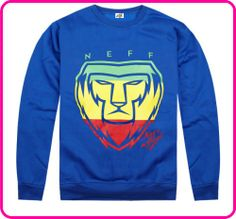Stock Free Shipping cheap blue Street hiphop style 100% cotton spring casual long-sleeve sweatshirt men'stop outerwear $39.09