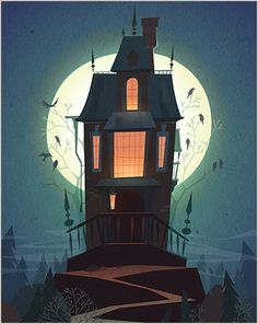 Halloween illustrations 2015 on Behance ★ Find more at http://www.pinterest.com/competing/