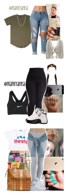 To School Outfit nike Lit Outfits, Dope Outfits, Cute Casual Outfits, Summer Outfits, Teen Outfits, Back School Outfits, Polyvore Outfits, Teen Fashion, Fashion Outfits