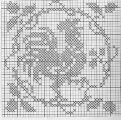 Crochet Tablecloth, Filet Crochet, Crochet Projects, Cross Stitch Patterns, Easter, Birds, Quilts, Blanket, Rugs