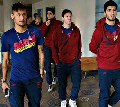 Neymar, Suarez, Messi, & Bartra