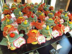 Aline Vissotto - Atelier de biscuit: Festa da Julia 1° aninho - tema pomar…