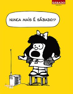 Leituras de BD/ Reading Comics: Lançamento ASA / Revista Sábado: Mafalda, a Perspicaz