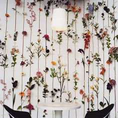 Floral walls are what we live for