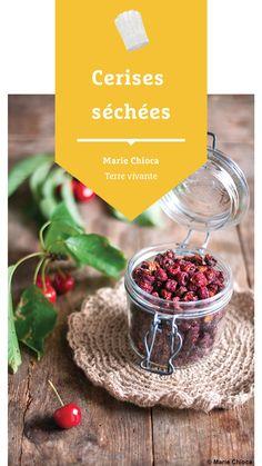 #terrevivante #cerises #cerisessechees #recetteprintemps #mariechioca C'est Bon, Bio, Eat Healthy, Raisin, Cherry Fruit, Earth