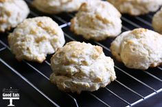 Buttermilk Drop Biscuits - Grace and Good Eats
