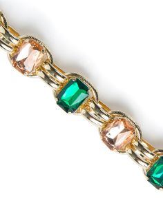 Give an outfit some POP with a brightly colored bracelet