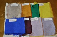 """Sabina Fay Braxton's - new colors added to her """"Obi"""" silk collection"""
