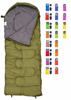 Buy REVALCAMP Sleeping Bag for Cold Weather - 4 Season Envelope Shape Bags by Great for Kids, Teens & Adults. Warm and Lightweight - Perfect for Hiking, Backpacking & Camping Hiking Sleeping Bags, Ultralight Sleeping Bag, Best Sleeping Bag, Mummy Sleeping Bag, Down Sleeping Bag, Kids Sleeping Bags, Lightweight Sleeping Bag, Compact Sleeping Bag, Sacks