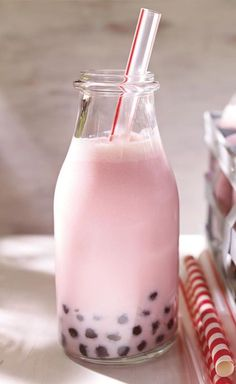 Mascarpone Bubble Tea.